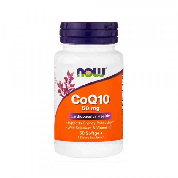 CoQ10 vitamina E now foods 0