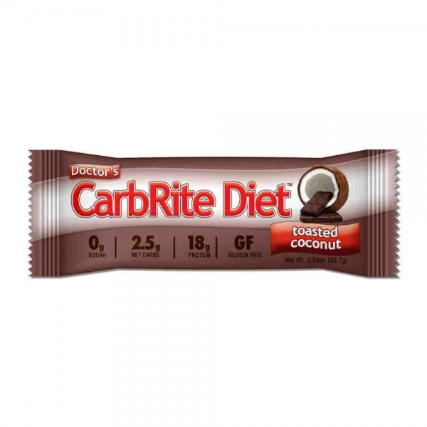 CarbRite Diet, Batoane proteice, Doctor's, 12x57g 1