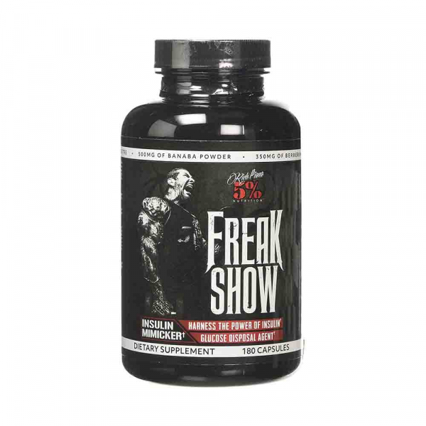 Freak Show Insulin Mimicker, Rich Piana, 180 caps 0