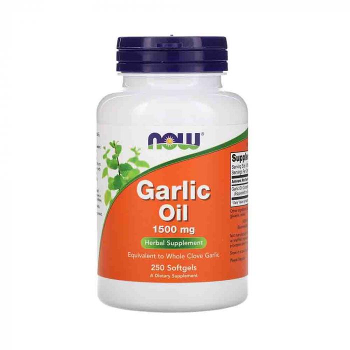 garlic-oil-ulei-de-usturoi-now-foods 0