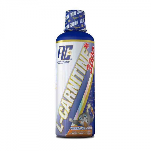 L-Carnitine XS Liquid, Ronnie Coleman, 465ml/31 serviri 0