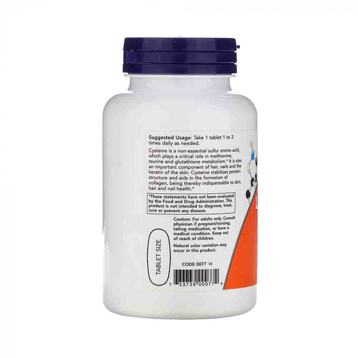 l-cysteine-500mg-now-foods 1