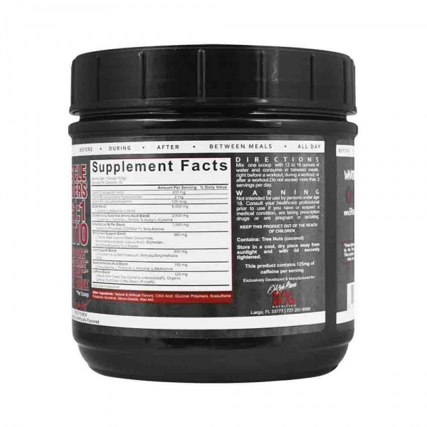All day you may, Rich Piana Nutrition, 465g 2