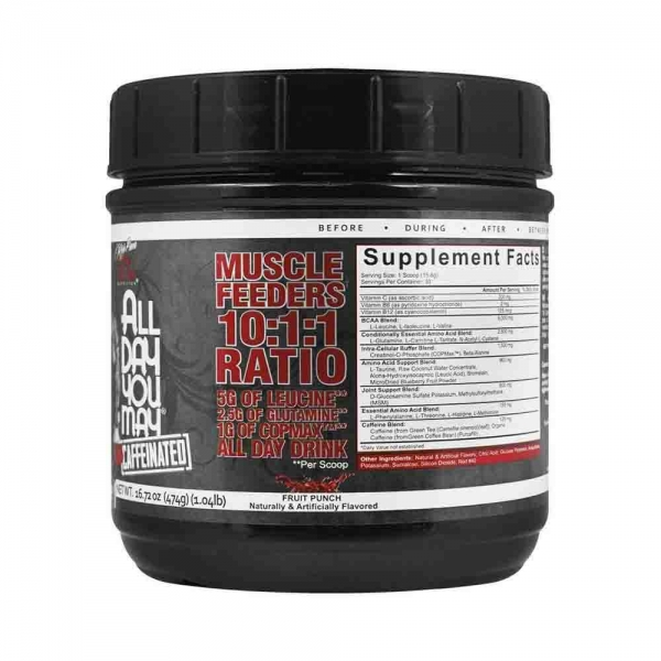 All day you may, Rich Piana Nutrition, 465g 1