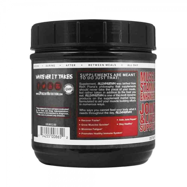 All day you may, Rich Piana Nutrition, 465g 4
