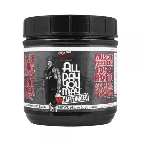 All day you may, Rich Piana Nutrition, 465g 0