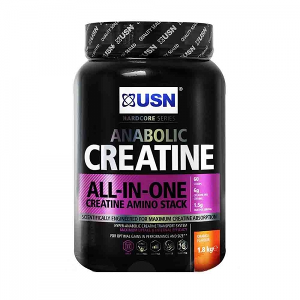 Anabolic Creatine ALL IN ONE, USN, 1800g 0