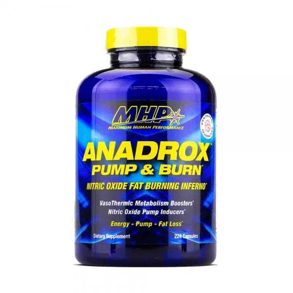 Anadrox Pump & Burn, MHP, 224 capsule 0