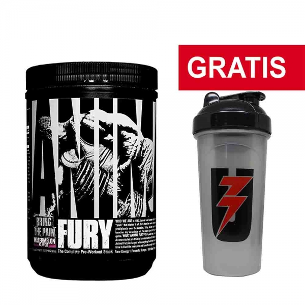 Animal Fury - Universal Nutrition - 490g/30serv 0