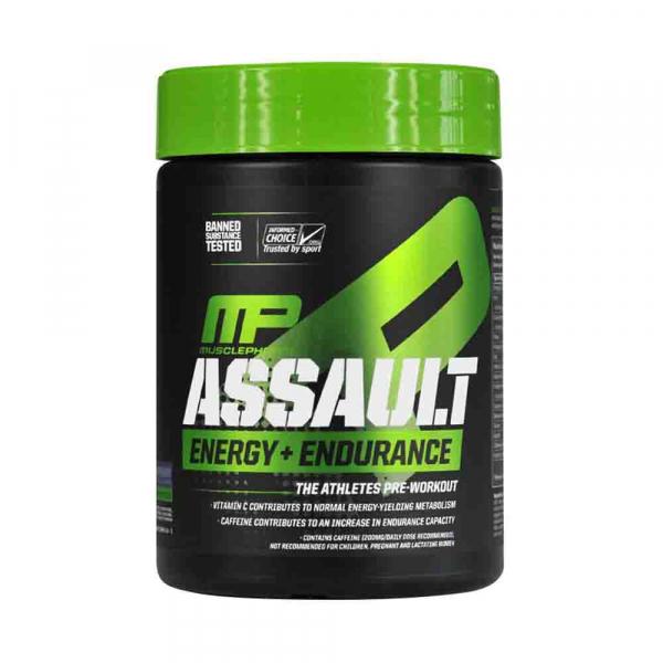 Assault Energy + Endurance, MusclePharm, 345g 0