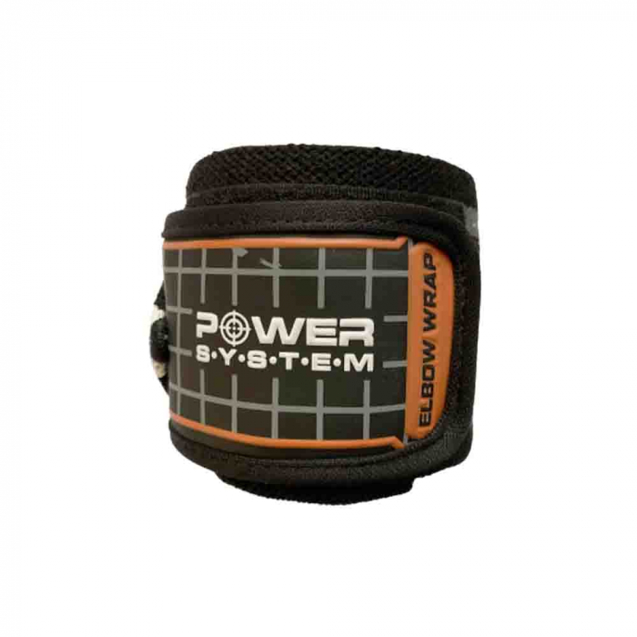 Bandaje pentru coate Elbow Wraps, Power System, Cod: 3600 5