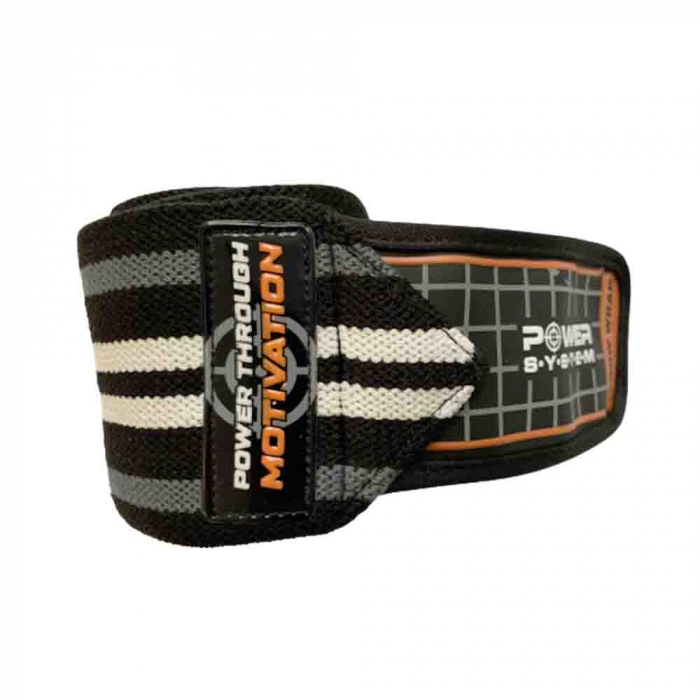 Bandaje pentru coate Elbow Wraps, Power System, Cod: 3600 4