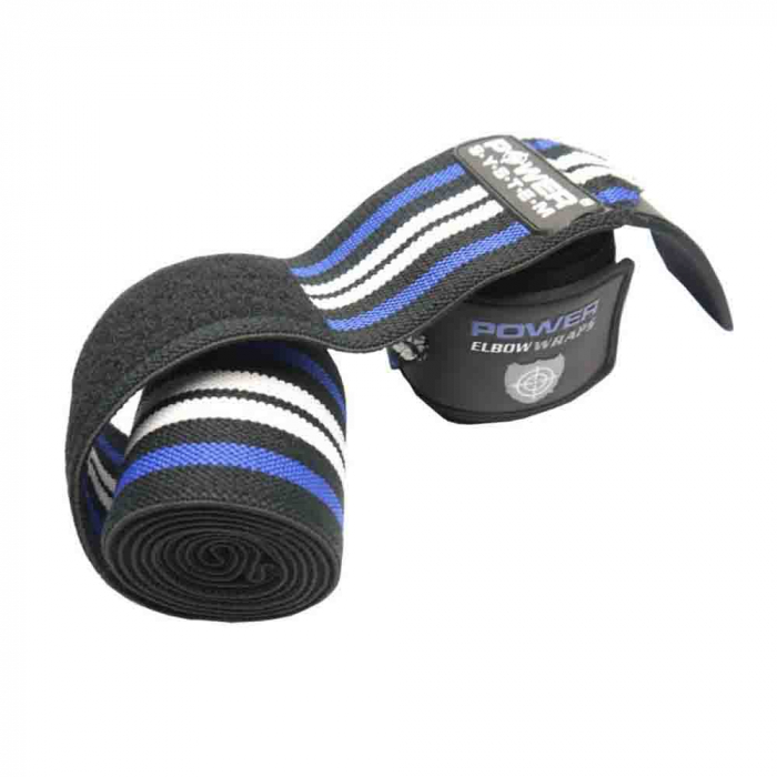Bandaje pentru coate Elbow Wraps, Power System, Cod: 3600 0