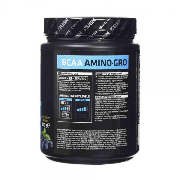 BCAA Amino-Gro, USN, 300g 1