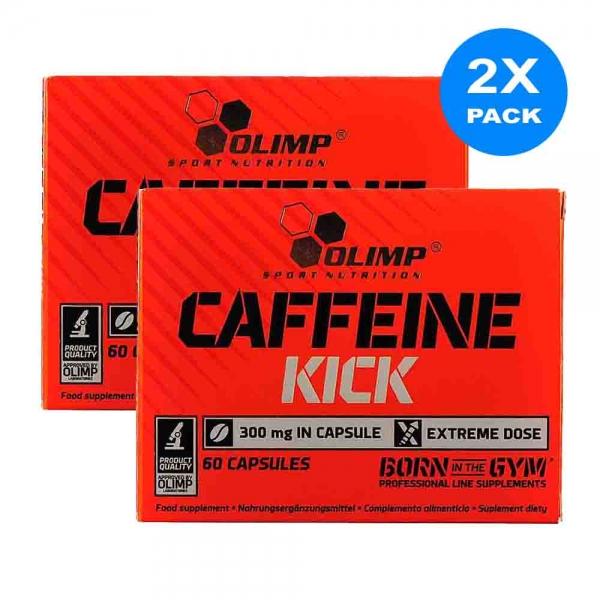 Capsule cafeina, Caffeine Kick, Olimp, 60 caps 4