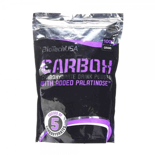Carbox, Sursa de carbohidrati, BioTech USA, 1000g 0