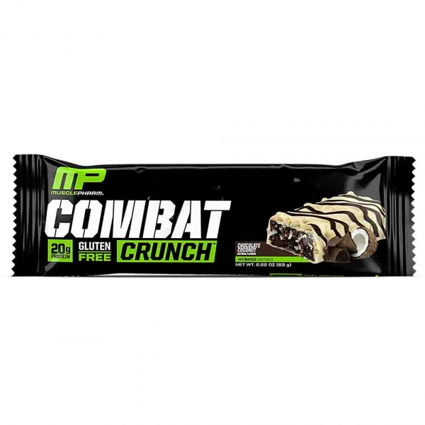 Combat Crunch Bar, MusclePharm, 12x63g 1