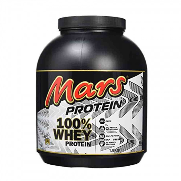 Concentrat Proteic Mars Protein 100% Whey, 1.8kg 0