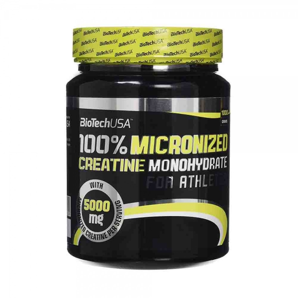 100% Creatina monohidrata, BioTech USA, 1000g 1