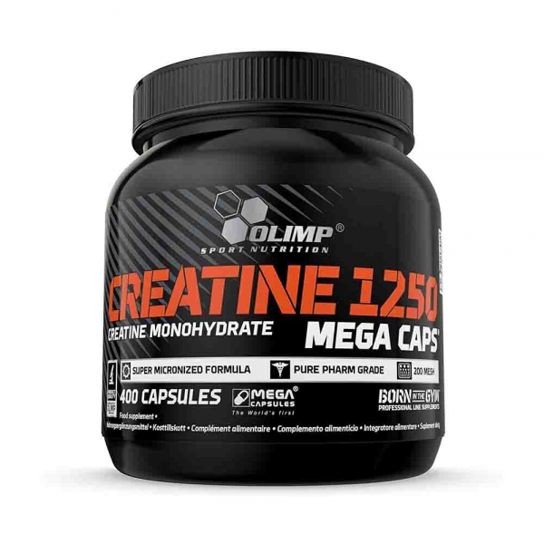 Creatine Mega Caps 1250 0