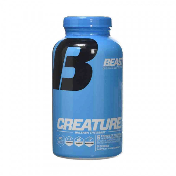 Creature - Mix Creatina, Beast Sport Nutrition, 180 caps 0
