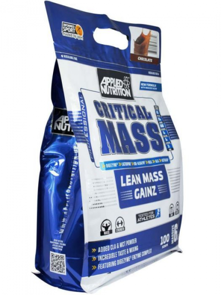 Critical Mass Gainer, Applied Nutrition, 2.4kg/6kg 1