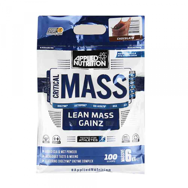 Critical Mass Gainer, Applied Nutrition, 2.4kg/6kg 0