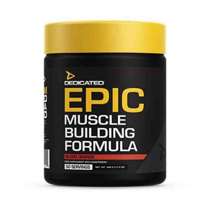 EPIC Pre-workout, Dedicated Nutrition, 488g 0