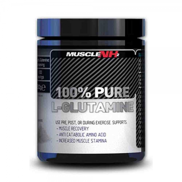 Pure Glutamine 100%, Muscle NH2, 500g 0