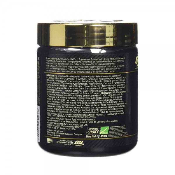 Gold Standard Pre-Workout, Optimum Nutrition, 330g 2