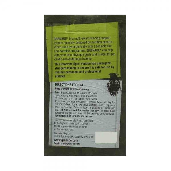 Grenade Thermo Detonator, Arzator de Grasimi, Grenade 3