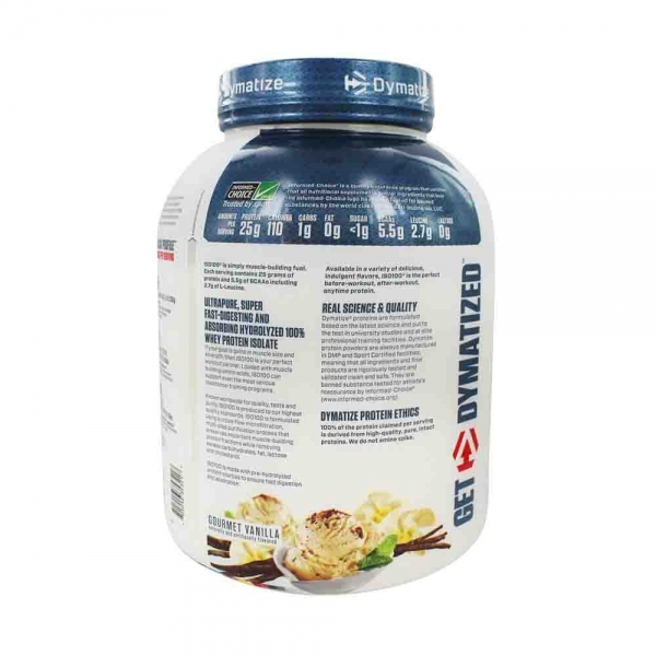 ISO100 Hydrolyzed, Dymatize Nutrition, 2200g 2
