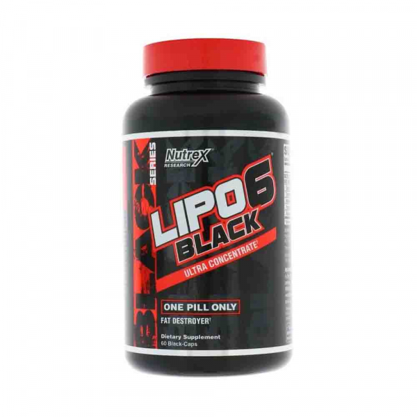 Lipo-6 Black Ultra Concentrate Yohimbine, Nutrex Research, 60 caps USA 2