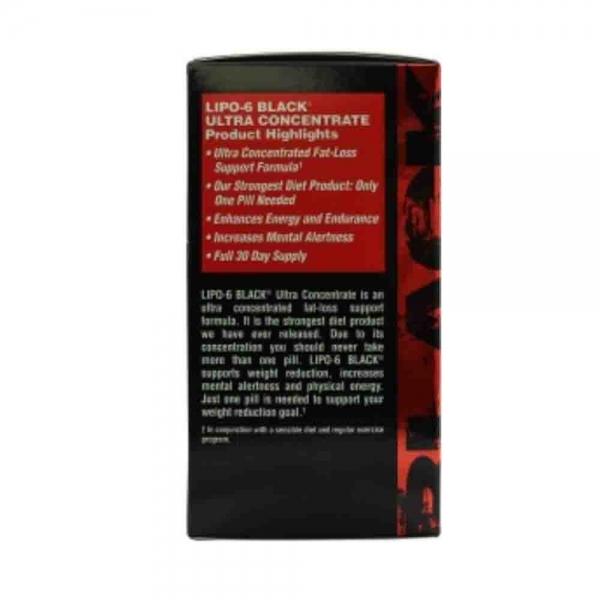 Lipo-6 Black Ultra Concentrate, Nutrex Research, 60 capsule 1