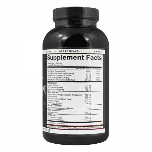 Liver & Organ Defender, Rich Piana Nutrition, 240 capsule 1