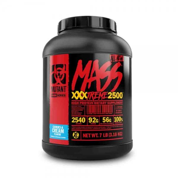 Mass XxxTreme 2500 Gainer, Mutant, 3180g 0