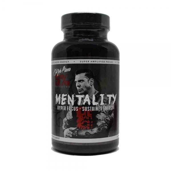 Mentality, Rich Piana Nutrition, 90 caps 0