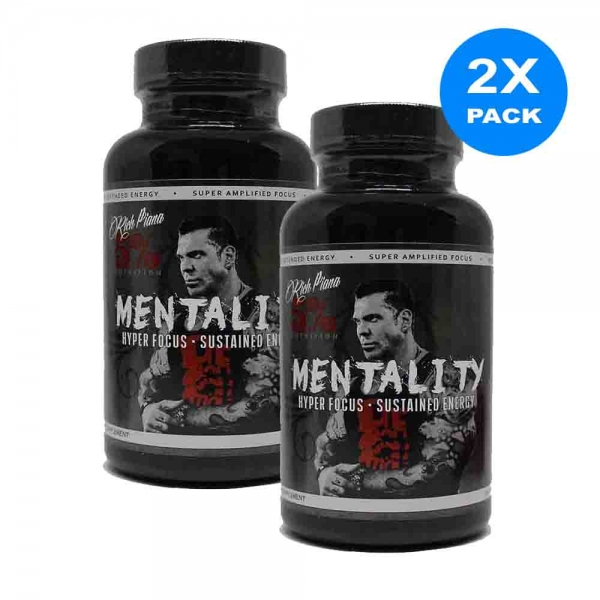 Mentality, Rich Piana Nutrition, 90 caps 5
