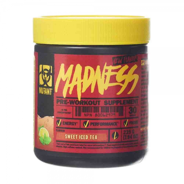 Madness Pre-workout, Mutant, 225g, 30 serviri 0