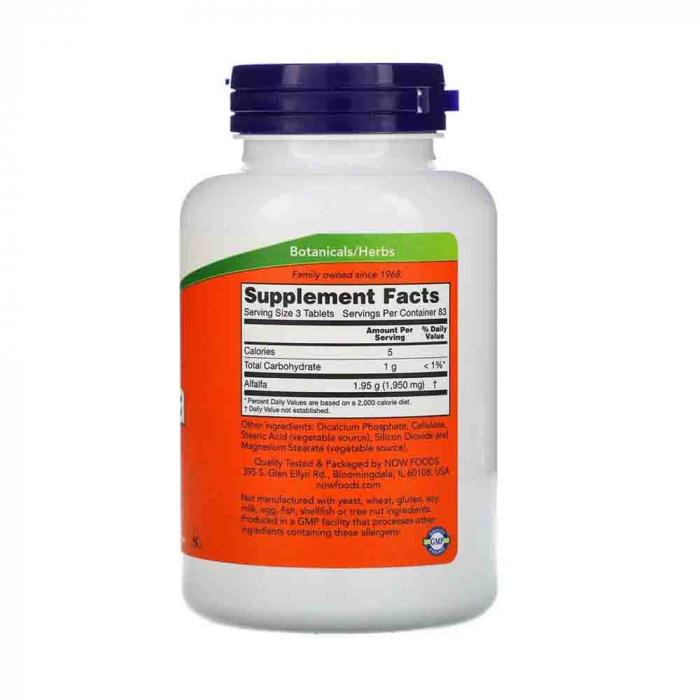 alfalfa-650mg-now-foods 2