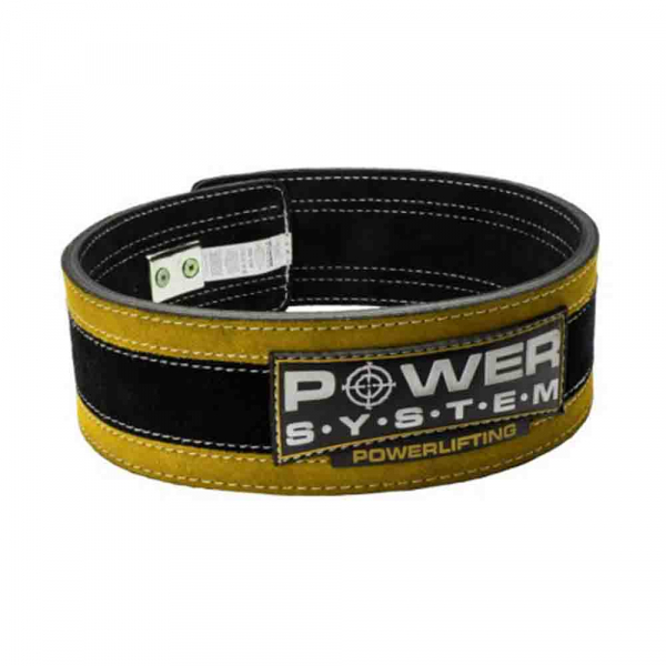 Centura de POWERLIFTING - STRONGLIFT cu Catarama, Power System, Cod: 3840 1