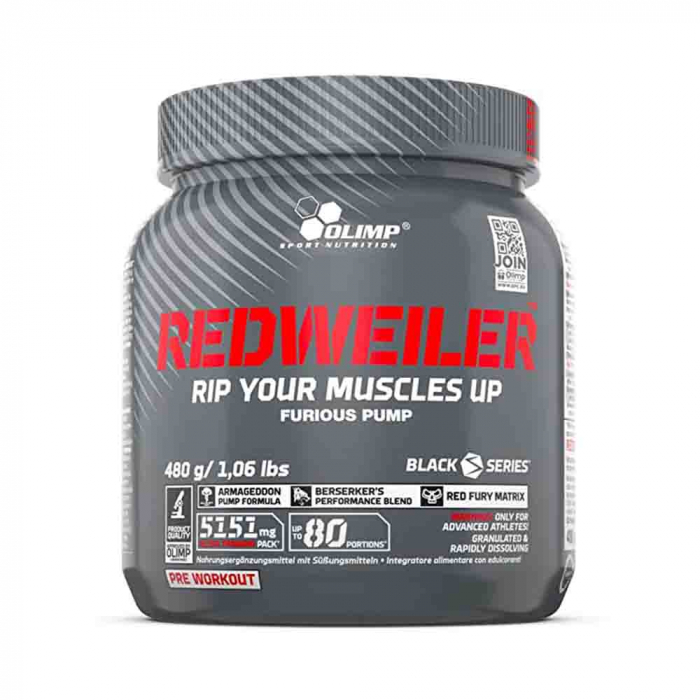 redweiler-pre-workout-olimp-nutrition 0
