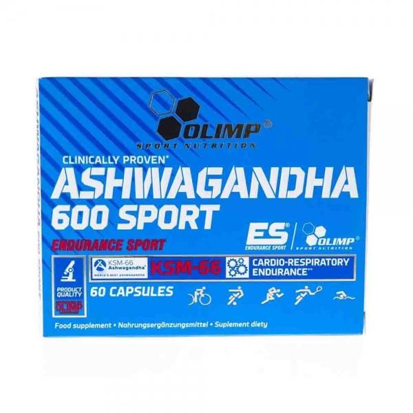 Ashwagandha 600 Sport KSM-66 0
