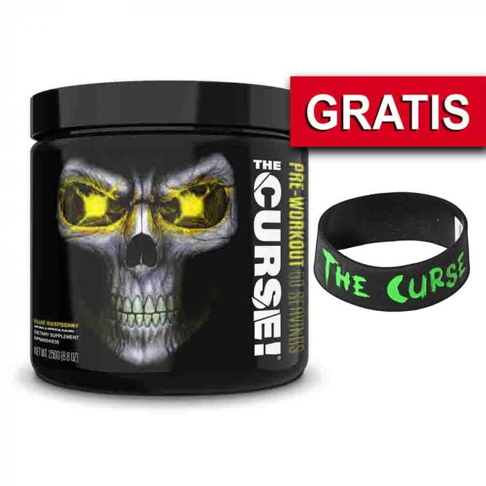 The Curse Pre-workout, Cobra Labs, 250g, JNX + Bratara 0