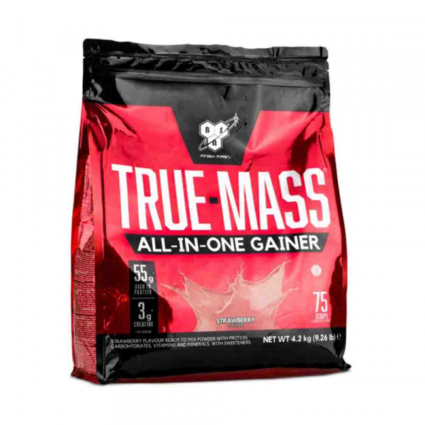 True Mass All-in-One Gainer, BSN, 4200g 0