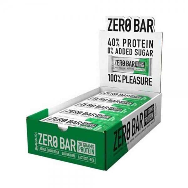 Zero Bar Protein, BioTech USA, 20x50g 0