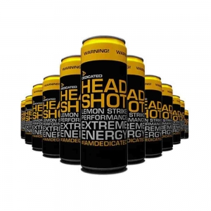 Headshot Drink, Dedicated Nutrition, 12 bucati X 355 ml0