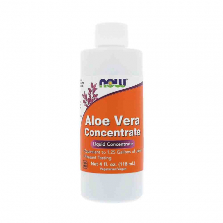 Aloe Vera Concentrate, Now Foods, 118ml0