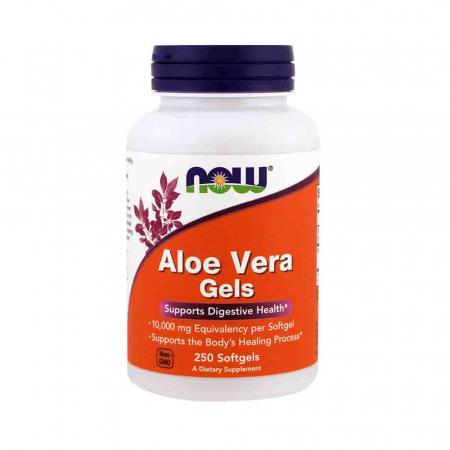 Aloe Vera Gels 10.000 mg, Now Foods, 250 softgels0