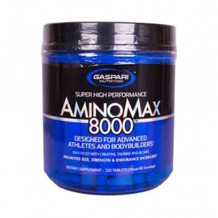 AminoMax 8000, Gaspari Nutrition, 325 tablete0